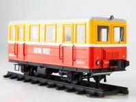 Herpa 83MP0074 servisní koleové vozidlo AS-1A červené / žluté