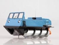 Herpa 83MP0092 ZIL-2906 sněhový automobil světle modrý