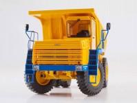 Herpa 83SSM1445 Belaz-75473 sklápěč oranžový / modrý