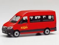 Herpa 096218 MAN TGE bus Circus Krone