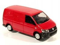 Rietze 11685 Volkswagen T6 skříň KR červený