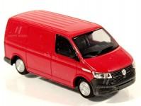 Rietze 11687 Volkswagen T6.1 skříň KR červený