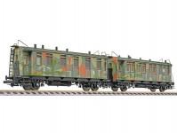 Liliput L330518 dvojice zásobovacích maskovacích vozů DRB II.epocha