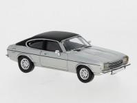 Brekina PCX870068 Ford Capri MK II matná stříbrný / černý 1974