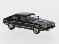Brekina PCX870070 Ford Capri MK II černý 1974