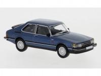 Brekina PCX870122 Saab 900 Turbo tmavě modrá metalíza