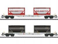 Märklin 47137 set kontejnerových vozů Den Hartog