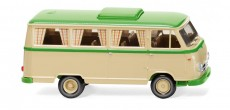 Wiking 27044 Borgward Campingbus B611 béžový / žlutozelený