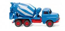 Wiking 68208 MAN míchač betonu bílý / modrý