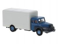 Brekina 85512 UNIC ZU 122 Koffer blau/grau