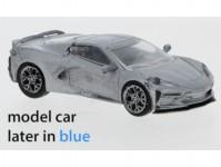 Brekina PCX870211 Chevrolet Corvette C8 modrý 2020