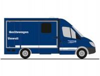 Rietze 61718 Strobel RTW THW Worms Gerätewagen Umwelt