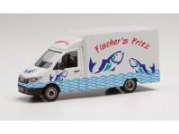 Herpa 096447 MAN TGE Foodtruck Fischers Fritz