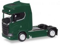 Herpa 307468-004 Scania CS HD V8 tmavě zelená