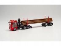 Herpa 314008 MAN TGX 6c transport dřeva Wurm