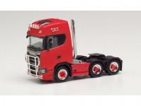Herpa 314053 Scania CS 20 HD 6x2 červená