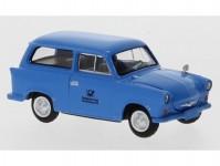 Brekina 27555 Trabant P 50 Kombi modrý 1960 Deutsche Post Studiotechnik