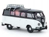 Brekina 31600 VW T1b Camper černý / bílý 1960