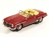 Brekina RIK38093 Mercedes 190 SL (W121 BII) tmavě červený