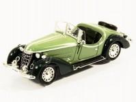 Brekina RIK38349 Wanderer W25K Roadster zelený/ tmavě zelený 1936