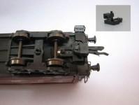 SDV 12007 kinematika krátkého spřáhla 2ks TT