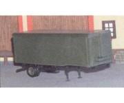 SDV 142 návěs Orličan N-12CH ČSLA - stavebnice H0