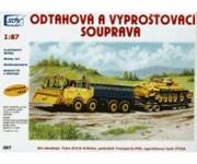 SDV 267 vyprošťovací set - T813 8x8 Kolos,  P50, VT-55A H0