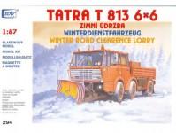 SDV 294 Tatra 813 6x6, zimní údržba H0