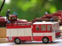 SDV 300 Liaz 101.860, hasičský automobil H0