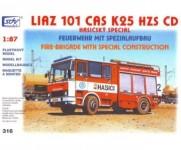 SDV 316 Liaz 101.860 CAS K25, HZS ČD H0