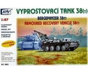 SDV 87063 vyprošťovací tank Praga 38(t) H0