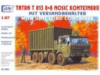 SDV 87081 Tatra 813 8x8 nosič kontejnerů H0