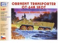 SDV 87090 OT-64 Skot A, obrněný transportér H0