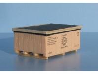 Veramo h010302 náklad dřevěná bedna VSO 48x33x21mm H0