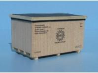 Veramo h010303 náklad dřevěná bedna VSO 48x33x28mm H0