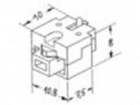 Weinert modellbau 86570 šachta s vedením pro tendr H0