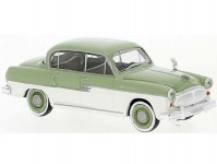 Brekina 27475 Sachsenring P 240 1956 světle zelený / bílý