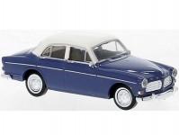 Brekina 29239 Volvo Amazon 1956 4-dvéřové modré / bílé