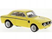 Brekina 29701 Alfa Romeo GTA 1300 1965 žlutá