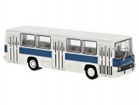 Brekina 59802 Ikarus 260 městský 1972 bílý / modrý