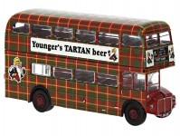Brekina 61107 AEC Routemaster 1960 Younger´s Tartan beer