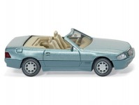 Wiking 14203 MB 500 SL cabrio metalíza H0