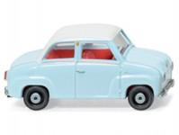 Wiking 18401 Glas Goggomobil světle modrý zavřený H0