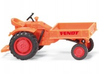 Wiking 89941 Fendt nosič nářadí 1960-1967 oranžový H0