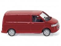 VW T5 skříňový červený