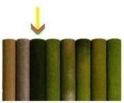 koberec tmavě zelený 120x60cm