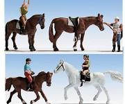 Noch 15630 jezdci na koních H0