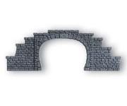 Noch 34410 portál tunelu dvoukolejný N