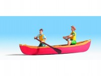 kanoe s vodáky