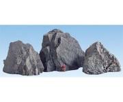 skalní kusy Arlberg 3 ks